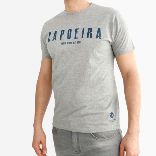 Basic Man's T-Shirt Capoeira
