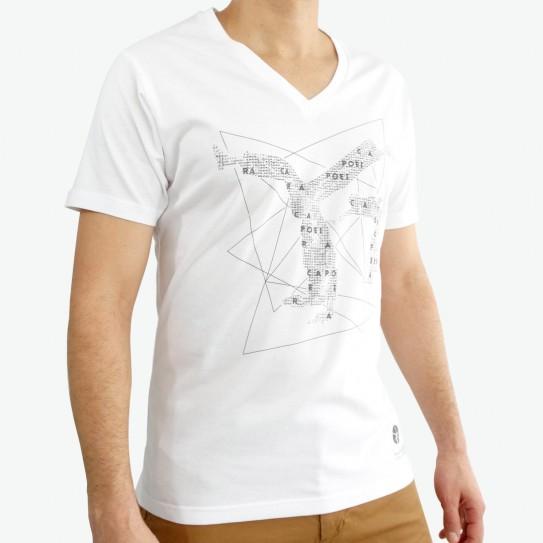 V-Neck T-Shirt Capoeiristas