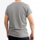 T-Shirt manches retroussées homme