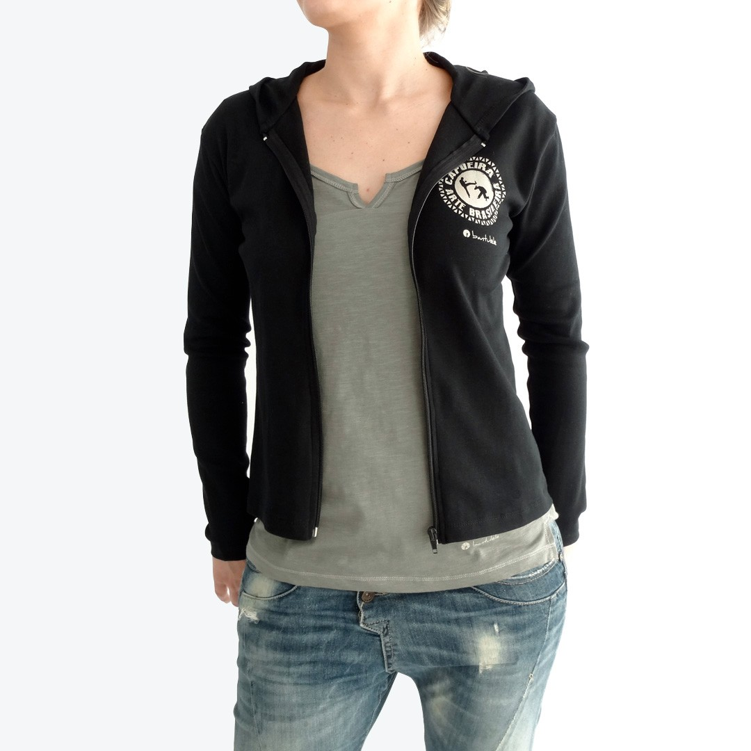 ce74994c4df Woman s Hooded Zip Jacket Capoeira - bantulele.com