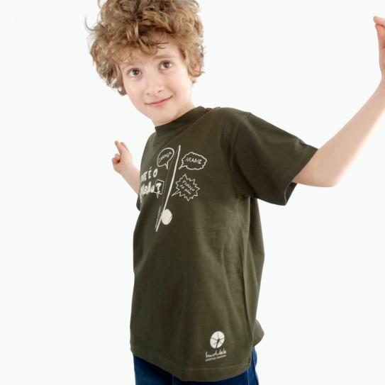 """Kid Capoeira T-shirt - Collection """"DIN DON colorido"""" 1"""
