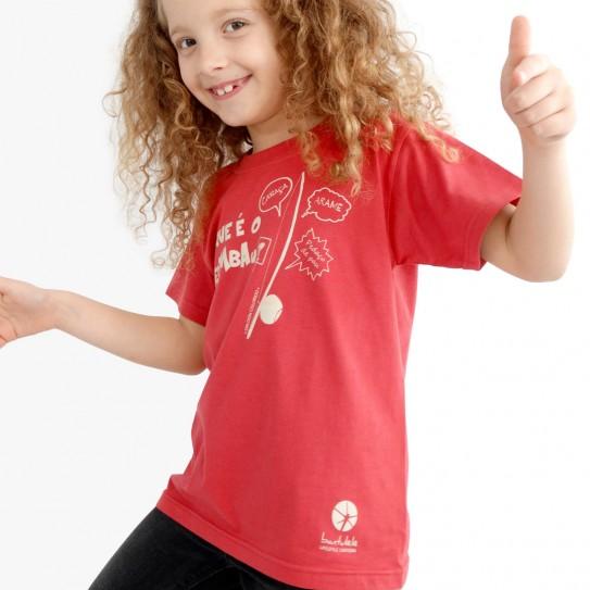 """Kid capoeira T-shirt - Collection """"DIN DON colorido"""" 2"""