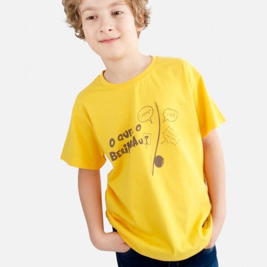 """Kid Capoeira T-shirt - Collection """"DIN DON colorido"""" 3"""