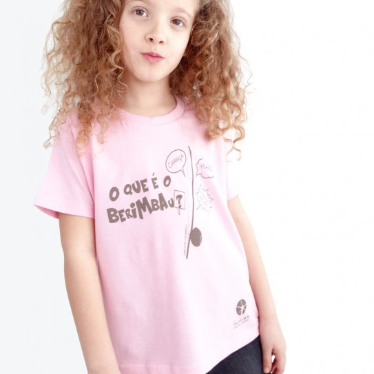 """Kid Capoeira T-Shirt - Collection """"DIN DON colorido"""" 6"""