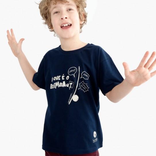 """Kid Capoeira T-Shirt - Collection """"DIN DON colorido"""" 7"""