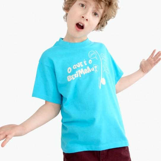 """Kid Capoeira T_Shirt - Collection """"DIN DON colorido"""" 8"""