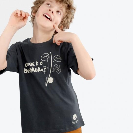 """Kid Capoeira T-shirt - Collection """"DIN DON colorido"""" 10"""