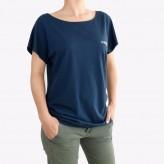T-shirt tunique col rond femme