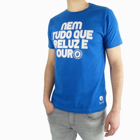 Basic Man's T-Shirt Nem Tudo que reluz é ouro